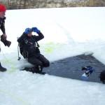 Fotografen im Eis
